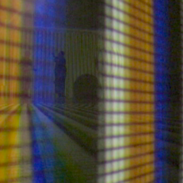 Carlos Cruz Diez, video snap shot.