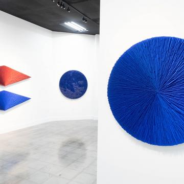 AIMLESS GEOMETRY: MARCOS COELHO BENJAMIN AT MIAMI
