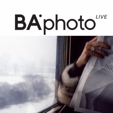 BAphoto PRESENTS LIVETALK, A CONVERSATIONS PROGRAM WITH PHOTOGRAPHY AND INTERNATIONAL CONTEMPORARY ART FIGURES