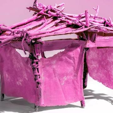 CAROLINA MAYORGA CREATES A PINK UNIVERSE