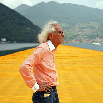 CHRISTO, KNOWN FOR HIS MONUMENTAL ENVIRONMENTAL ARTWORKS, HAS DIED AT 84 YEARS OLD