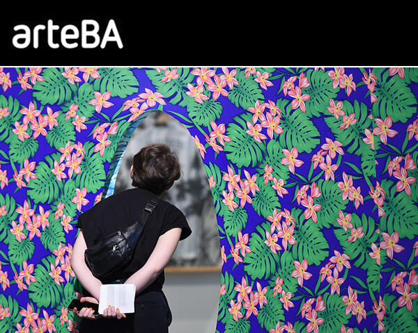 VERY WELL RECEIVED IN THE ART SCENE, GOOD SALES AND 200,000 VISITS, THE SPECIAL EDITION OF arteBA IN ARTSY CLOSES TODAY
