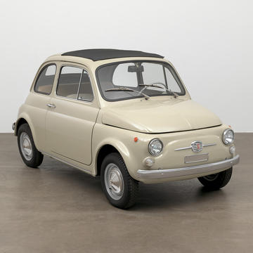 The Museum of Moder Art Acquires an Original-Condition 1968 Fiat 500