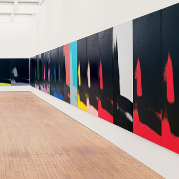 The Guggenheim Museum Bilbao presents Shadows by Andy Warhol