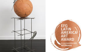 EFG LATIN AMERICA ART AWARD, IN PARTNERSHIP WITH ARTNEXUS, PRESENT THE NOMINATED ARTIST AT arteBA 2020