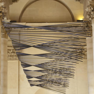 ELIAS CRESPIN REDESIGNS THE GRAND SOUTHERN STAIRS OF THE LOUVRE MUSEUM