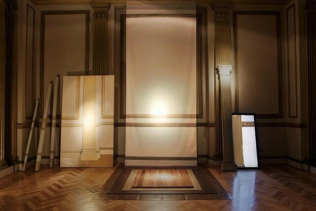 Florencia Levy prepares a video-instalation Project based on her international residences