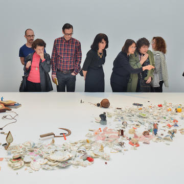 Liliana Porter participates in the 57th edition of the Venice Biennale