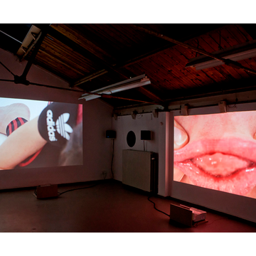 MERCEDES AZPILICUETA EXPLORES PHYSICAL AND ORAL LANGUAGE BORDERS