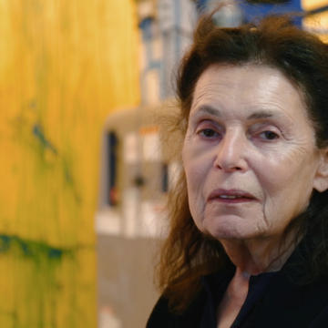 PAT STEIR: ARTIST, A DOCUMETARY FILM BY VERONICA GONZALEZ PEÑA