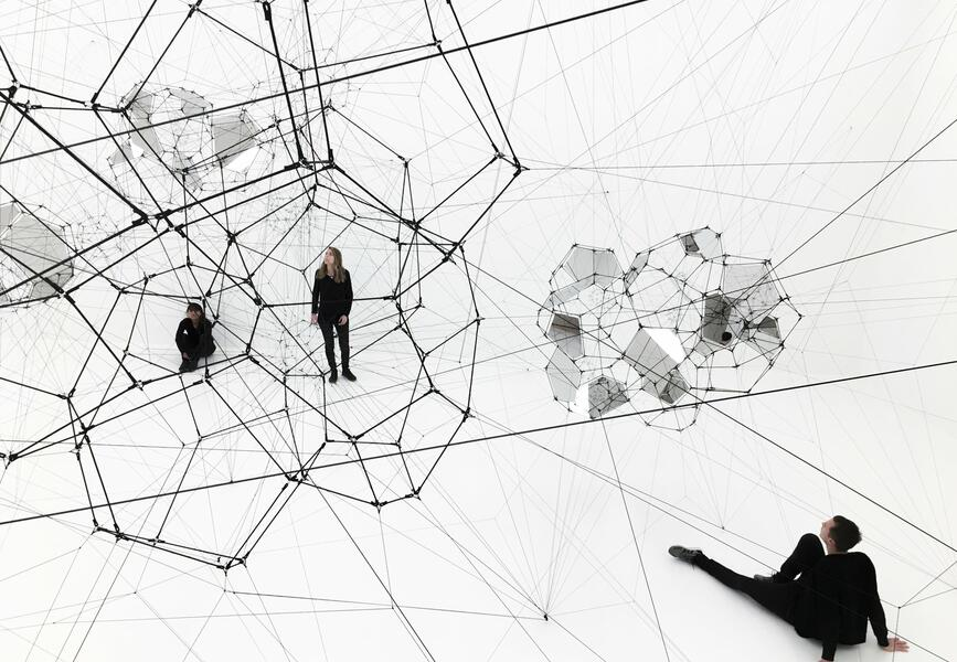 SFMOMA presents Stillness in Motion—Cloud Cities by Tomás Saraceno