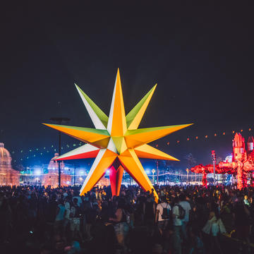 Supernova by Roberto Behar & Rosario Marquardt at Coachella Music & Arts Festival 2018