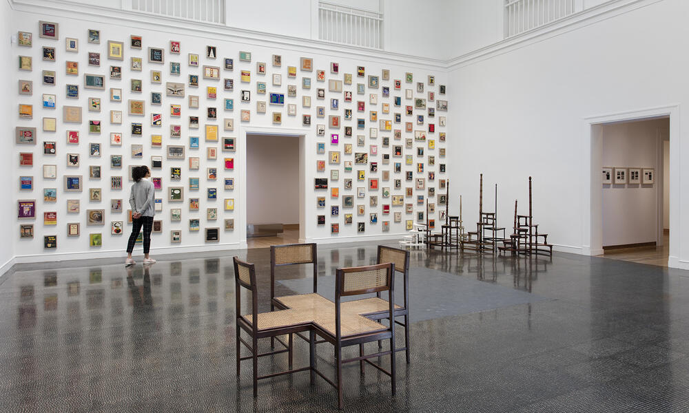 Valeska Soares: Any Moment Now on view at the Santa Barbara Museum of Art