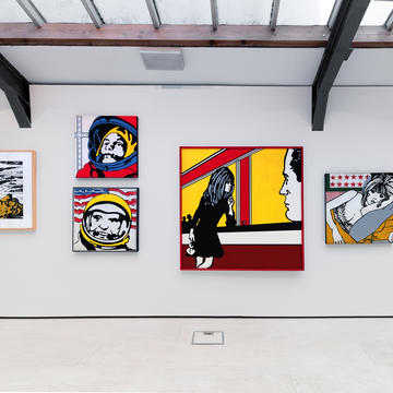Claudio Tozzi, New Figuration and the Rise of Pop Art 1967–1971. Installation view / vista de exhibición. Cecilia Brunson Projects.