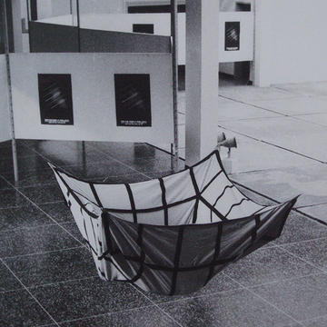 Untitled (Circunstancial), 1971.  Installation view / vista de exhibición. National Young Artists Salon, Casa de la Cultura, Maracay, 1971