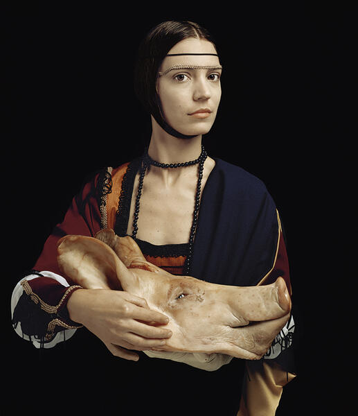 RES - La Dama / The Lady, 2005.  From the series / De la serie Conatus (RES + Constanza Piaggio).