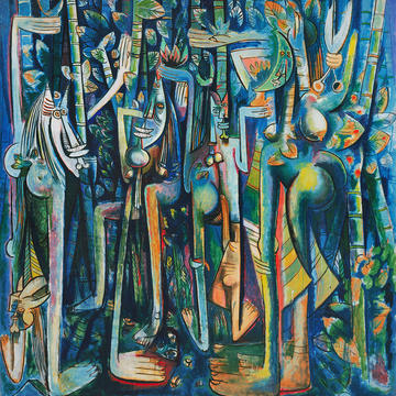 Wifredo Lam, La Jungla [The Jungle], 1943. The Museum of Modern Art, New York.