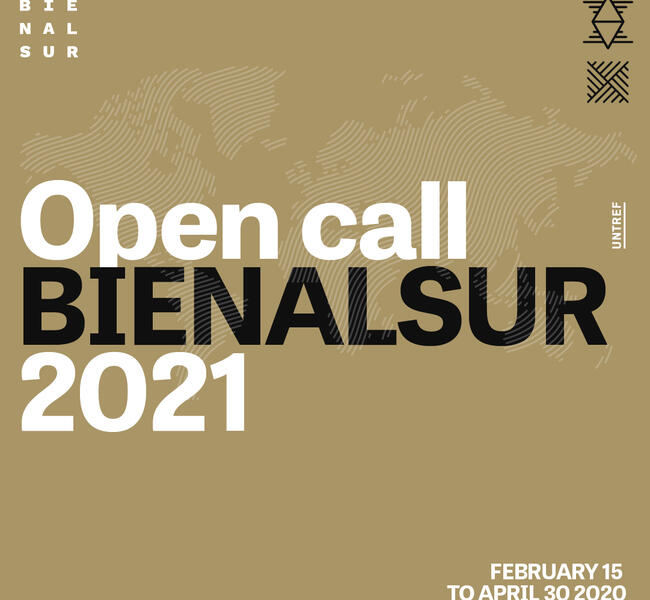 BIENALSUR 2021 - OPEN CALL 2020 FOR ARTISTS AND CURATORS