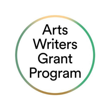 2020 ARTS WRITERS GRANT APPLICATION IS NOW OPEN