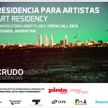 CRUDO RESIDENCES 2019: OPEN CALL